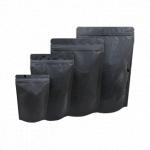 블랙 지퍼스탠드 100g, 200g, 500g, 1kg (100장)